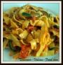 Tagliatelle with Courgettes