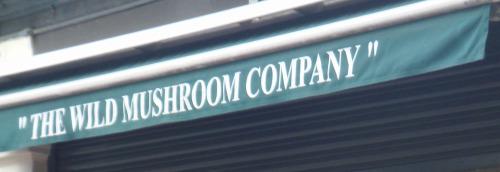 Wild Mushroom Company Borough Market London